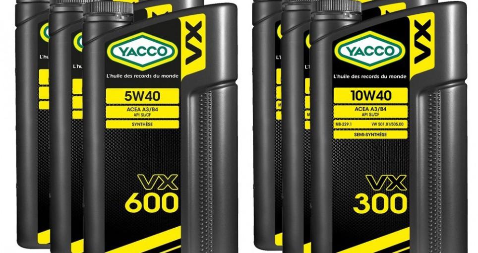 Бюджетные моторные масла YACCO